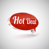 Hot deals vector icon