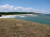 Vacations - splashing waves on the beach - Bulgarian seaside landscapes