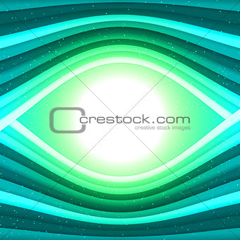 Abstract waved lines vector background