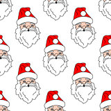 Santa Claus seamless pattern background