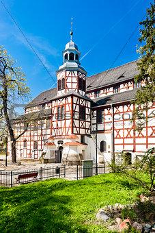 timbered church of Jawor, Silesia, Poland