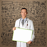 Doctor with Empty Board