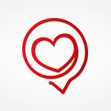 Red Heart Icon