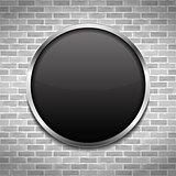 Black Round Board
