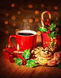 Christmas sweets still life