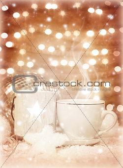 Christmastime coffee