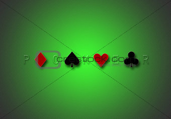 poker background gradient