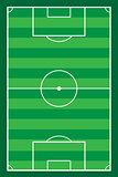 football soccer stadiun field vector