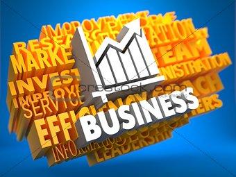 Business. Wordcloud Concept.