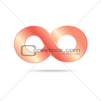 abstract infinity sign