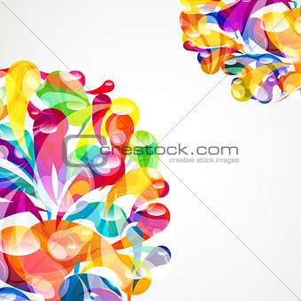 Business abstract item background.