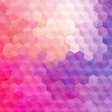 Multicolor cubic mosaic.