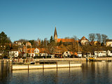 Eckernfoerde in Germany, the old harbor