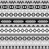 Tribal ethinc ztec seamless pattern