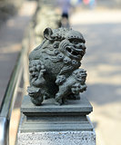 the Chinese ancient lion