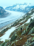 Great Aletsch Glacier (Bettmerhorn, Switzerland)