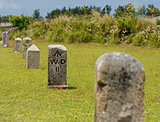 Stone Mile Markers