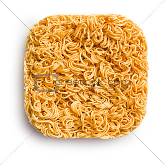 block of dried chinese noodles