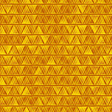 Yellow seamless vector abstract triangles background