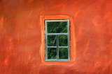 Window on the wall of an ancient house