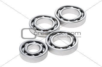 bearing on white background