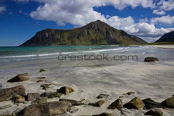 Beach on Flakstadoya