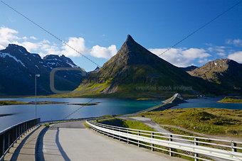 Bridges on Lofoten