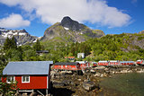 Fishing huts on Lofoten