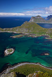 Picturesque view on Lofoten