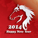Year of the Horse. Happy New Year 2014