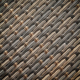 Wicker or rattan bamboo material