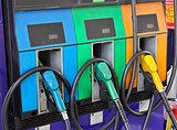 Gas pump filling nozzles