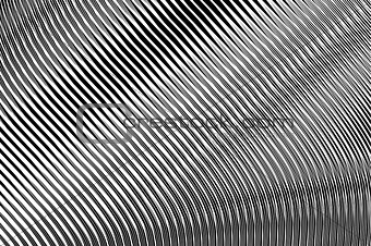 Abstract textured background in op art design.