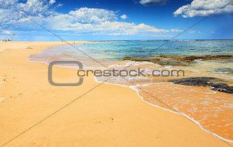 Beautiful Australian Beach in summer
