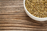 dry oregano herb