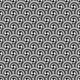 Design seamless monochrome abstract spiral diagonal pattern