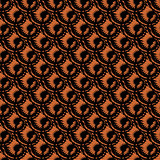 Design seamless spiral diagonal pattern. Trellis background