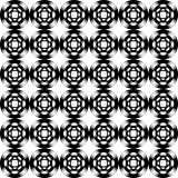 Design seamless geometric pattern. Monochrome trellis background