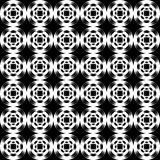 Design seamless uncolored abstract pattern. Lattice background