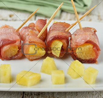 Bacon And Pineapple Appetizer