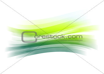 Green painted brush stroke background