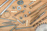Nuts, screws and bolts