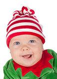 Newborn baby santa