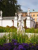 "Museum-Estate of Arkhangelskoye. Fountain ""Cupid with dolphins""."