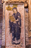 Jesus and Mary Mosaic in Chora Church
