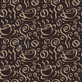 Abstract Coffee background.