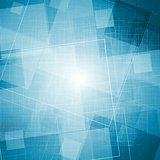 Bright blue grunge vector texture