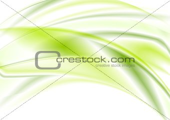 Bright green abstract design