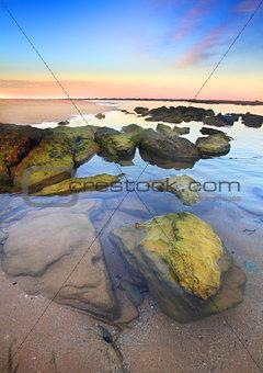 Sunset Toowoon Bay, Australia