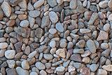 Sea pebbles.